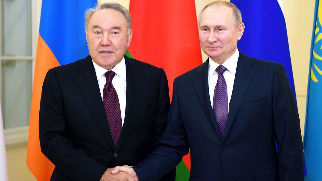 Путин Елбасыға телеграмма жолдады