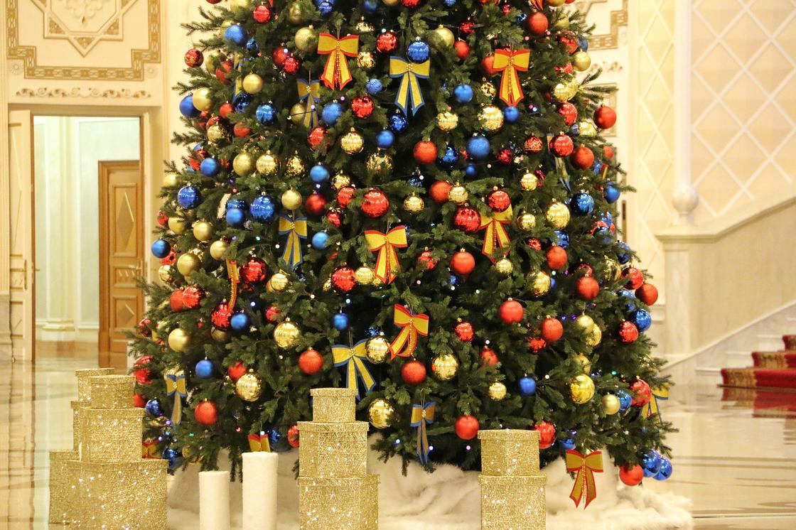 Как выглядит главная «президентская» елка Акорды (фото)