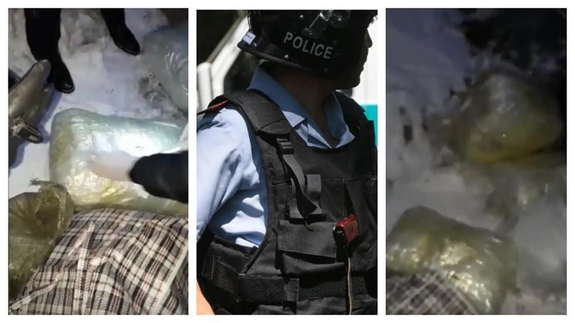 Банду наркоторговцев задержали в Актюбинской области (видео)