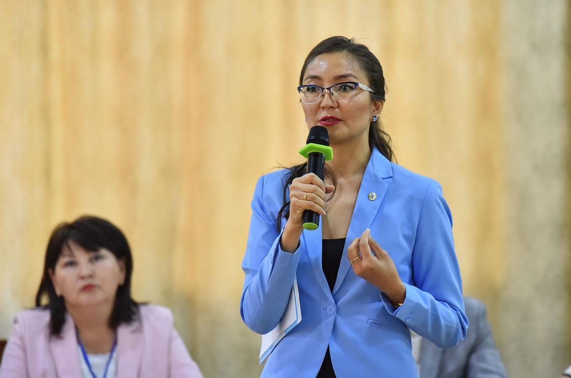 Айнур Айыпханова: Новый Кодекс о здоровье закрепил высокий статус медработников