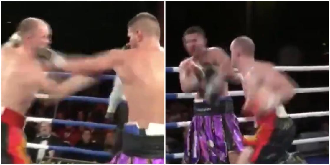 Уроженца Казахстана отправили в нокаут жестким ударом ноги в бою за титул чемпиона (видео)