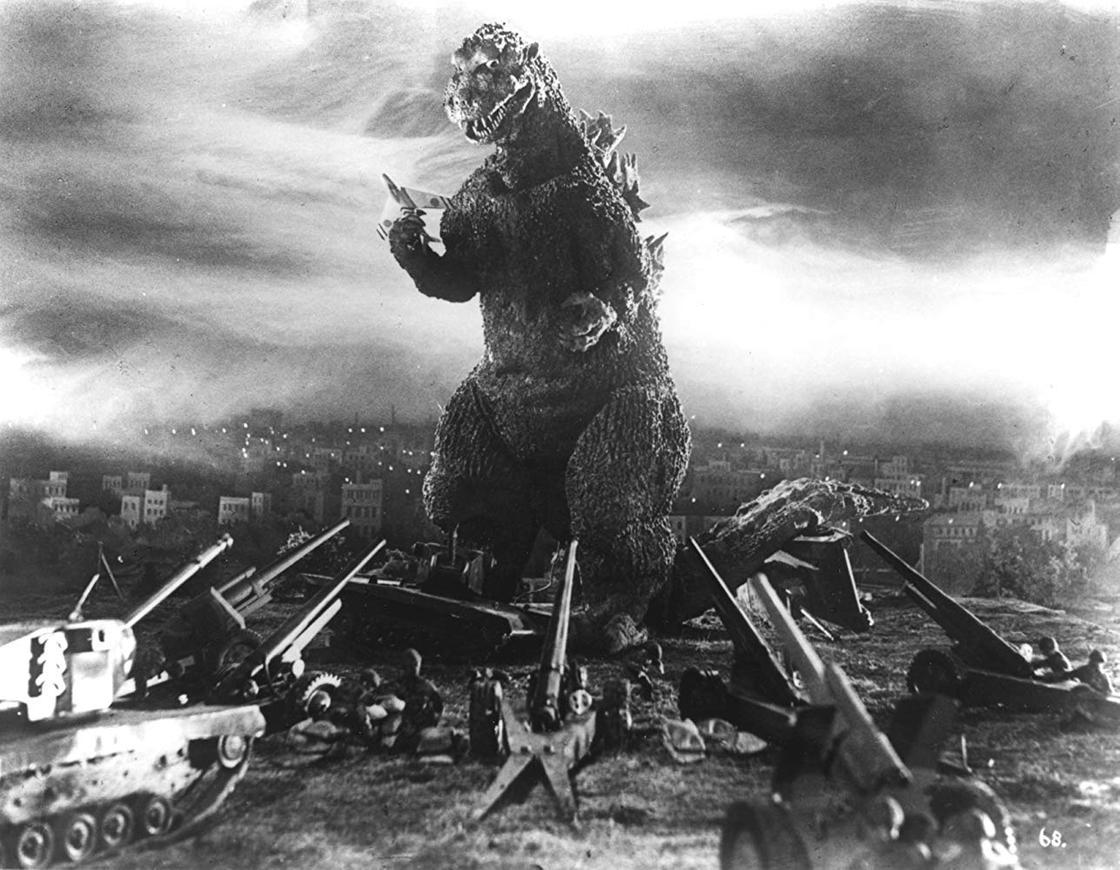Японские фильмы ужасов: Годзилла