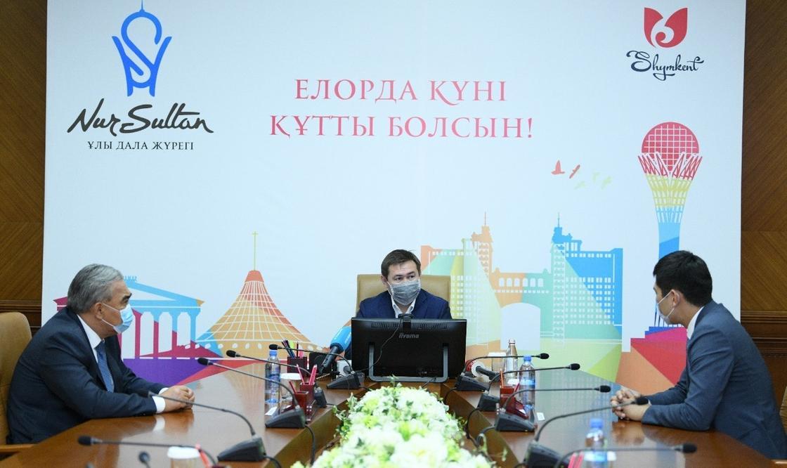 Шымкентцы отмечают День столицы в онлайн-режиме