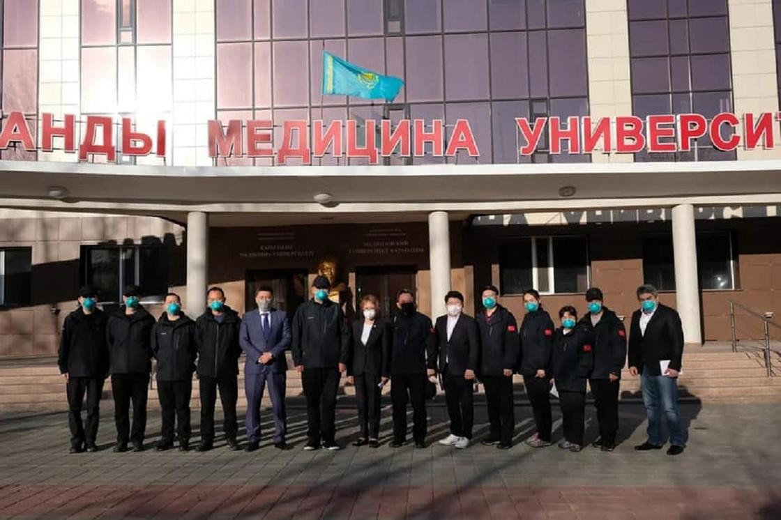 Новая вирусологическая лаборатория открылась в Караганде