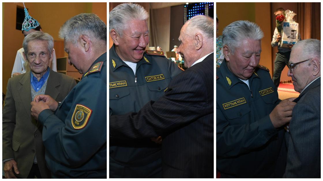 Ветеранам войны вручили юбилейные  медали Национальной гвардии