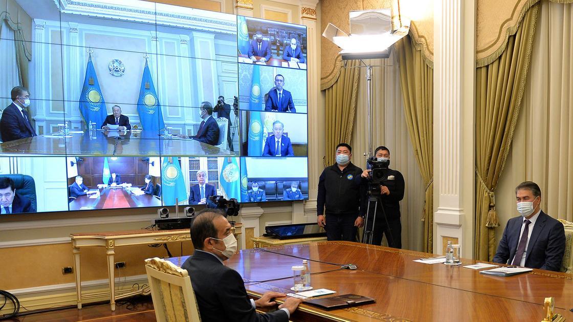 Назарбаев қауіпсіздік кеңесінің отырысын өткізді