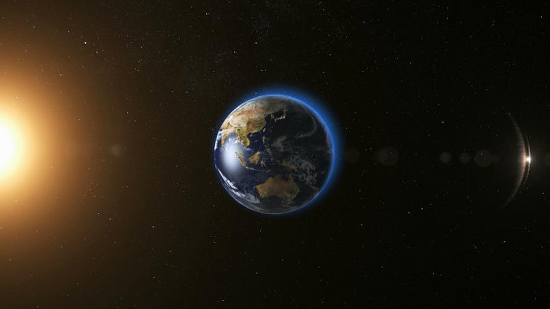 Земля в Космосе