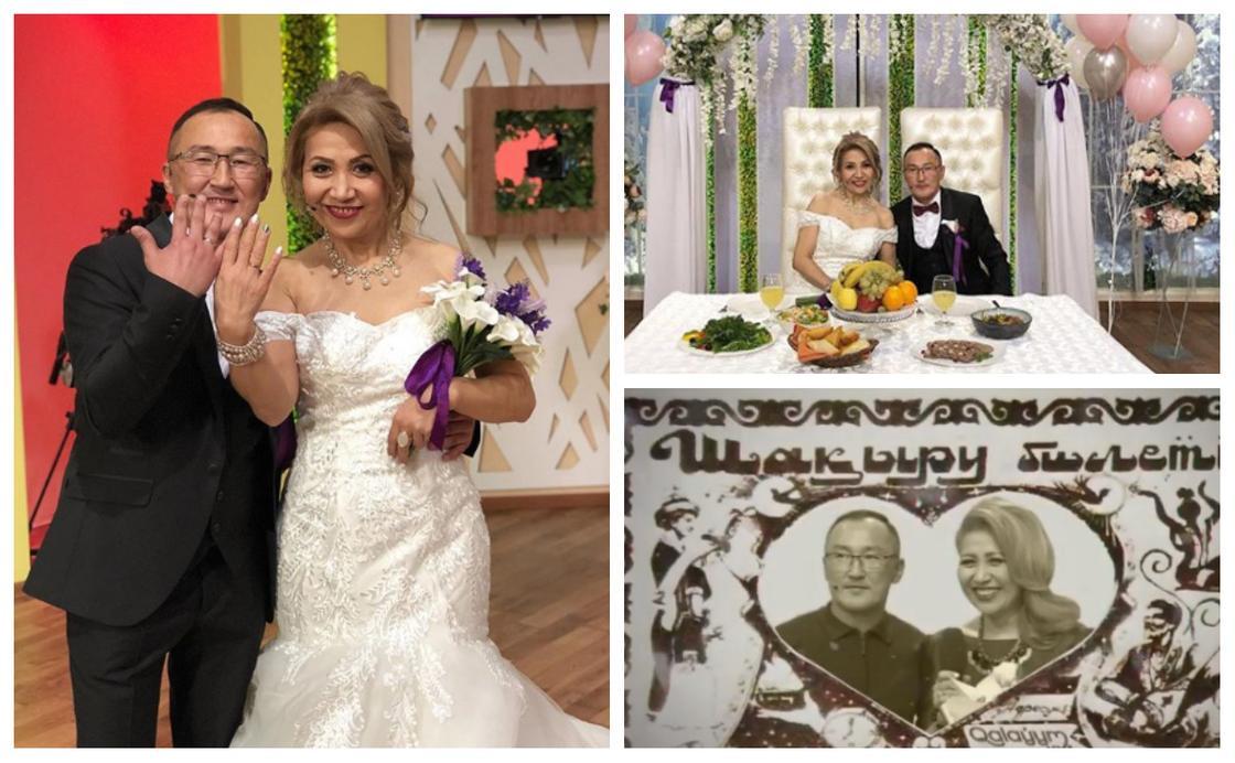 """Участница шоу-программы """"Qalauyym Life"""" вышла замуж в шестой раз"""