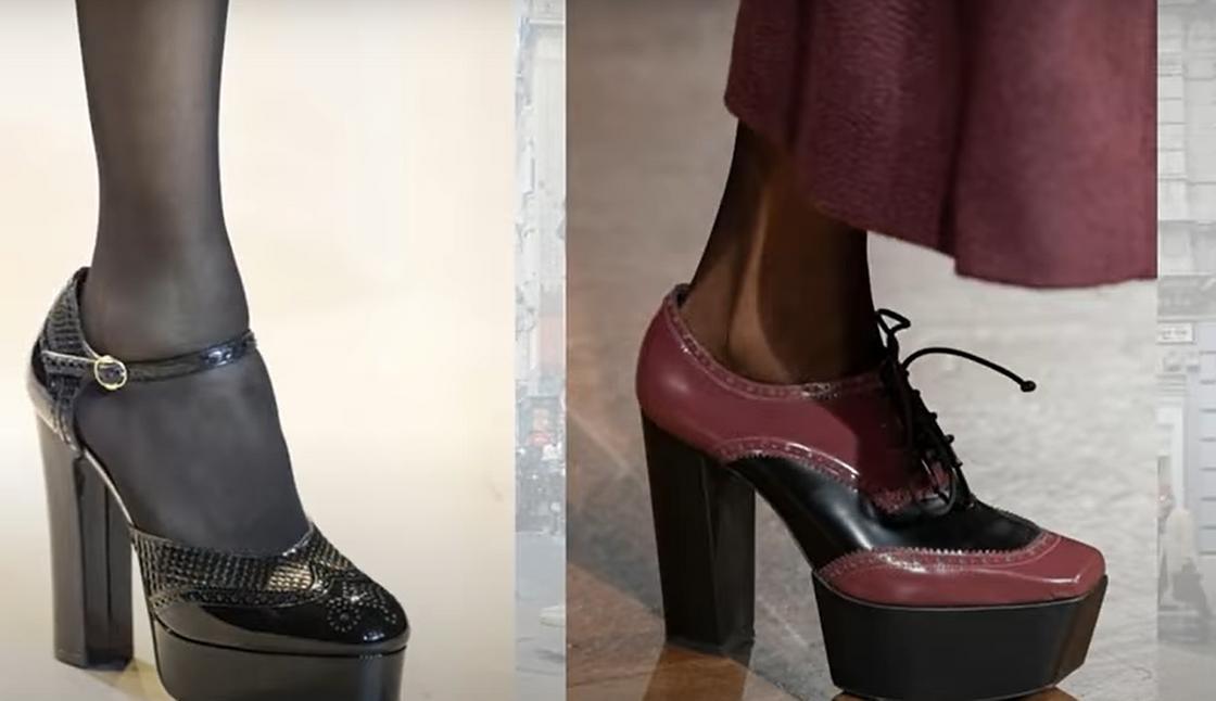 Модные туфли 2021
