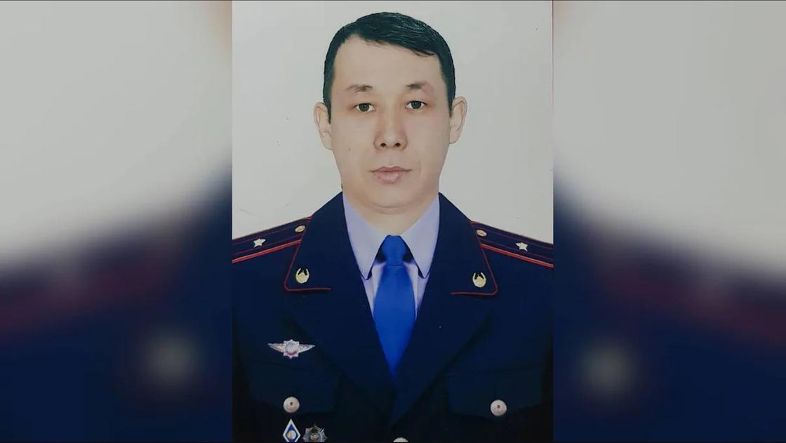 Бақытжан Бәкіров. Фото: polisia.kz