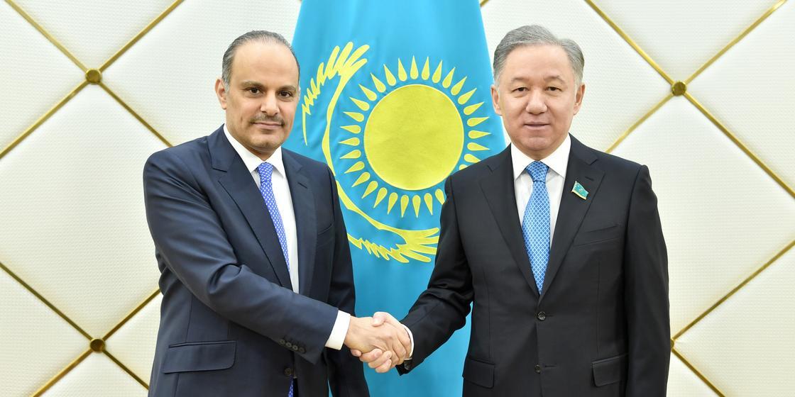 Нигматулин принял посла Катара в Казахстане