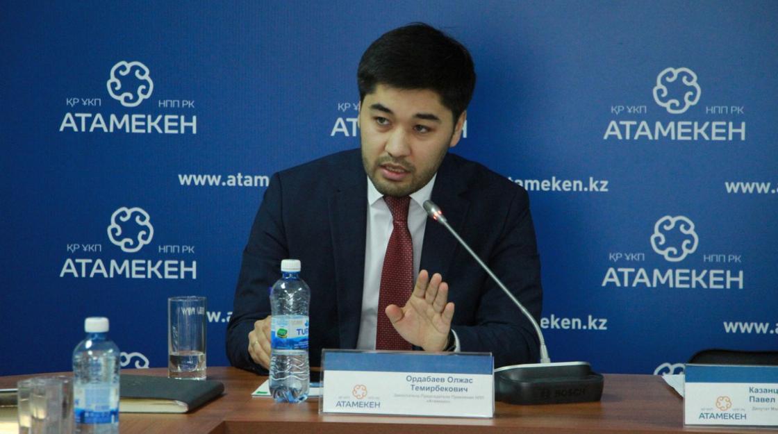 Олжас Ордабаев: Турбизнес на Алаколе понесет огромные убытки