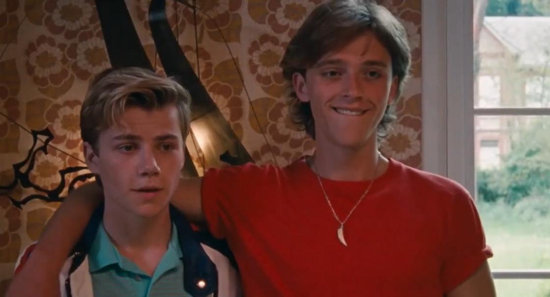 Кадр из фильма «Лето'85»