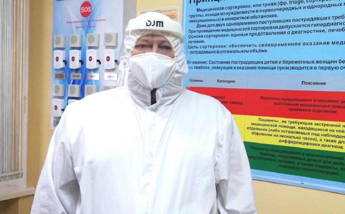 Олег Исаев. Фото: Денсаулық сақтау министрлігі