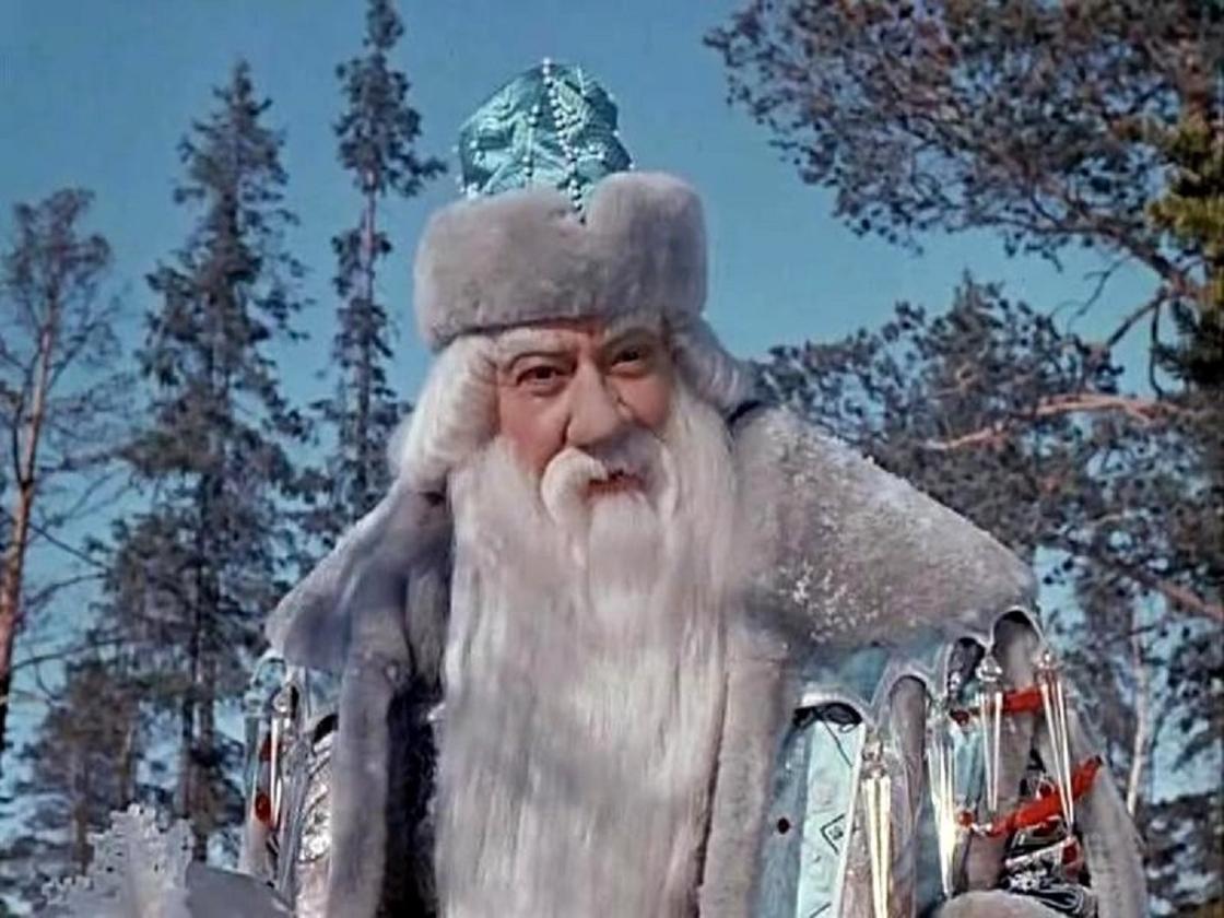 Кадр из фильма «Морозко»