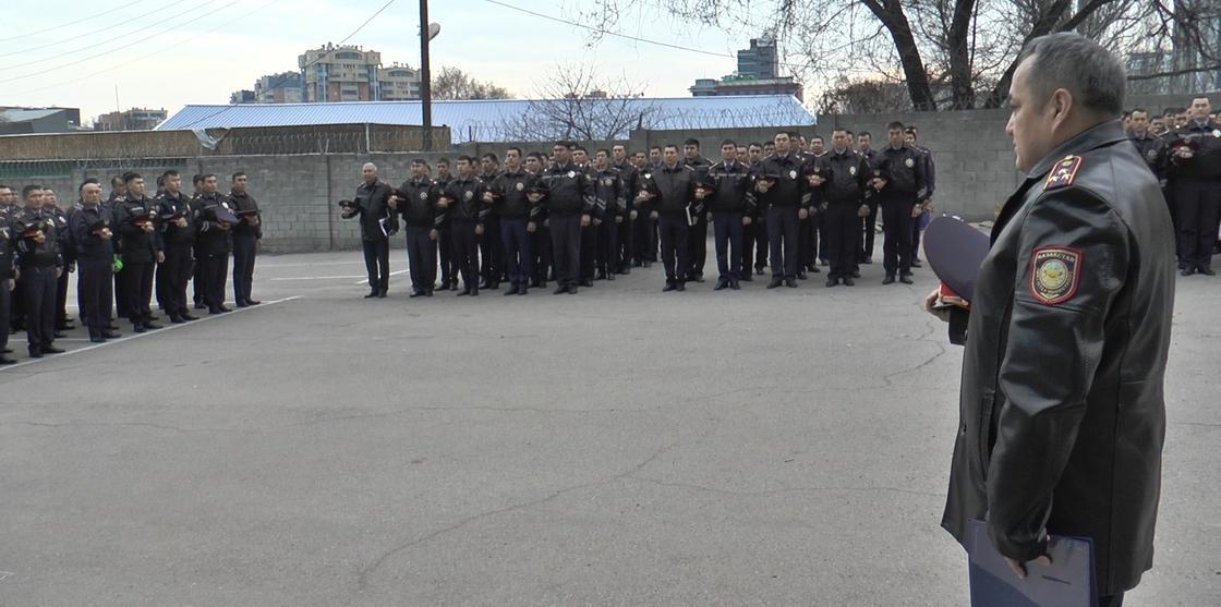 фото: Алматы қалалық полиция департаменті