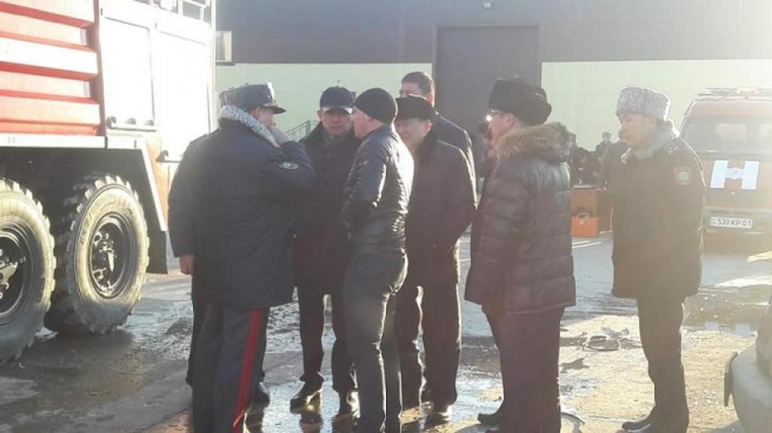 Султанов прибыл на место взрыва в Астане (фото)
