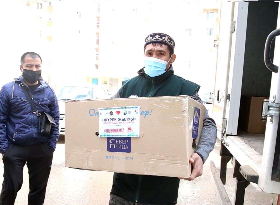 В Актобе в рамках акции «#BizBirgemiz» оказана помощь 99 детям-инвалидам