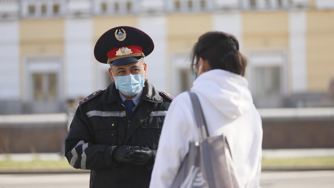 421 человек доставлен в полицию за нарушение карантина в Нур-Султане с 28 марта