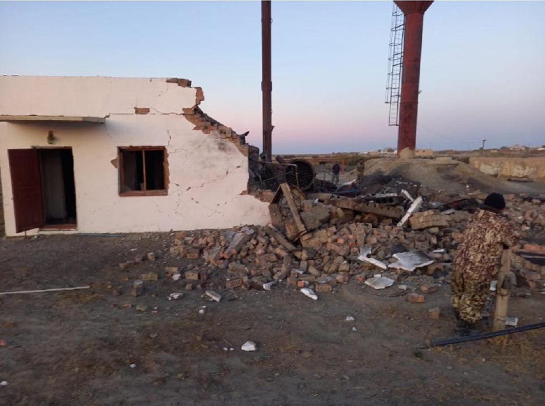 Взорвался котел в Кызылординской области
