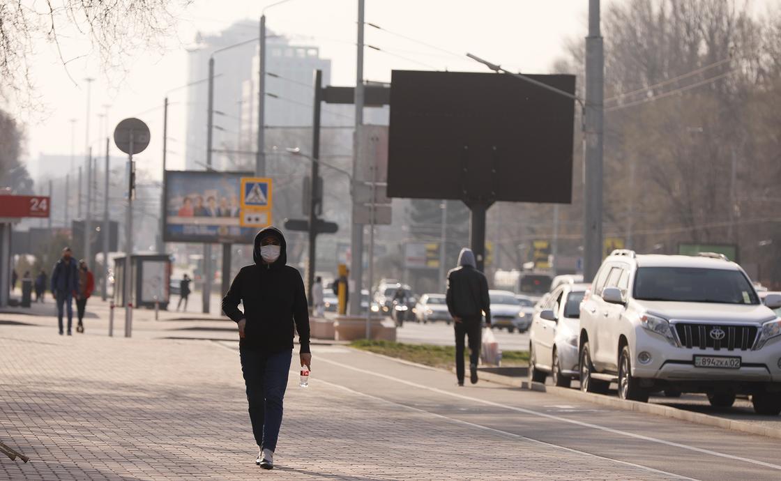 Преступность в Алматы упала почти на 70% из-за карантина