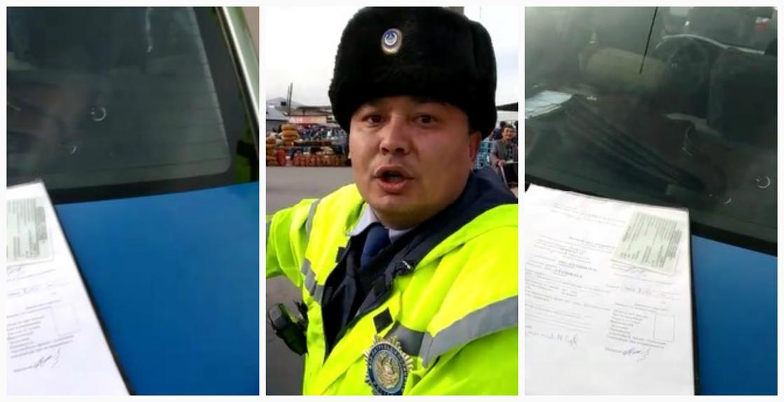Снятую на видео нецензурную перепалку водителя с полицейским прокомментировали в МВД