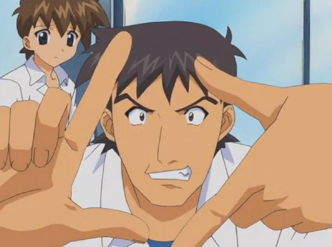 Кадр из аниме «Мабурахо»