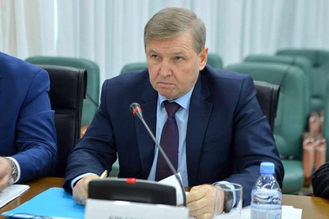 Василий Крылов уволился с поста замакима Акмолинской области