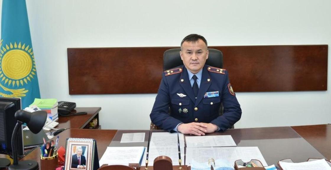 Дархан Қанатбеков. Фото: ІІМ баспасөз қызметі