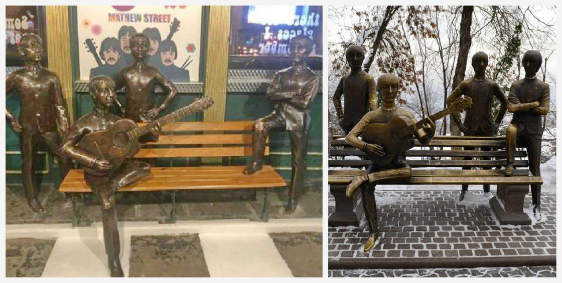 """""""Взяли и утащили у нас втихаря"""": скульптор о памятнике The Beatles в Ливерпуле"""