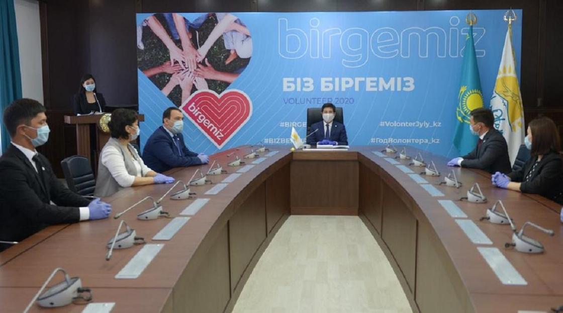 Волонтерам Павлодарской области вручили благодарственные письма от Елбасы
