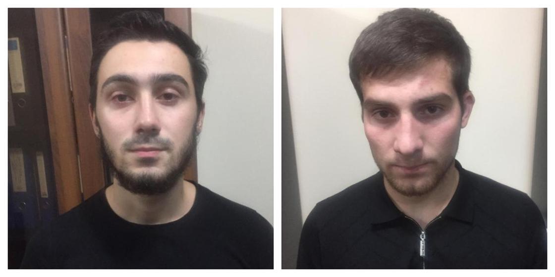 Двух парней задержали за рекламу наркотиков в Алматы
