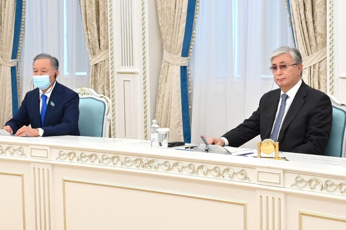 Нұрлан Нығматулин мен Қасым-Жомарт Тоқаев