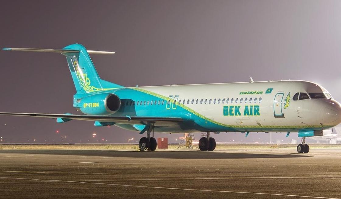 «Нас вывели полицейские»: пассажирка рассказала об инциденте с рейсом Bek Air