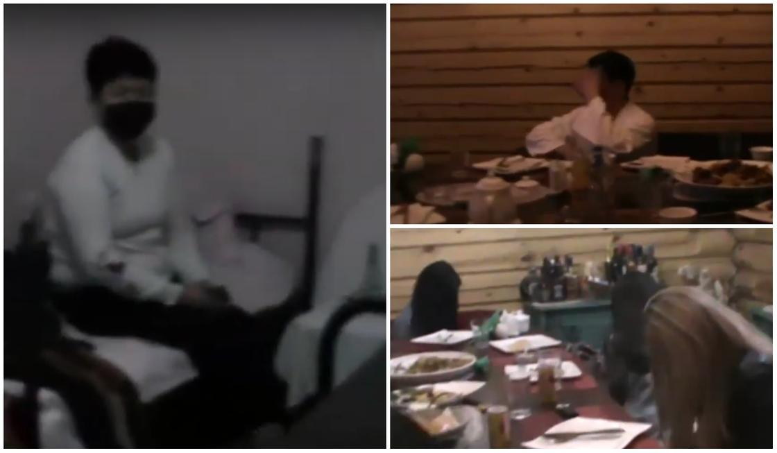 Баню с проститутками накрыл спецназ в карантинном Алматы (видео)
