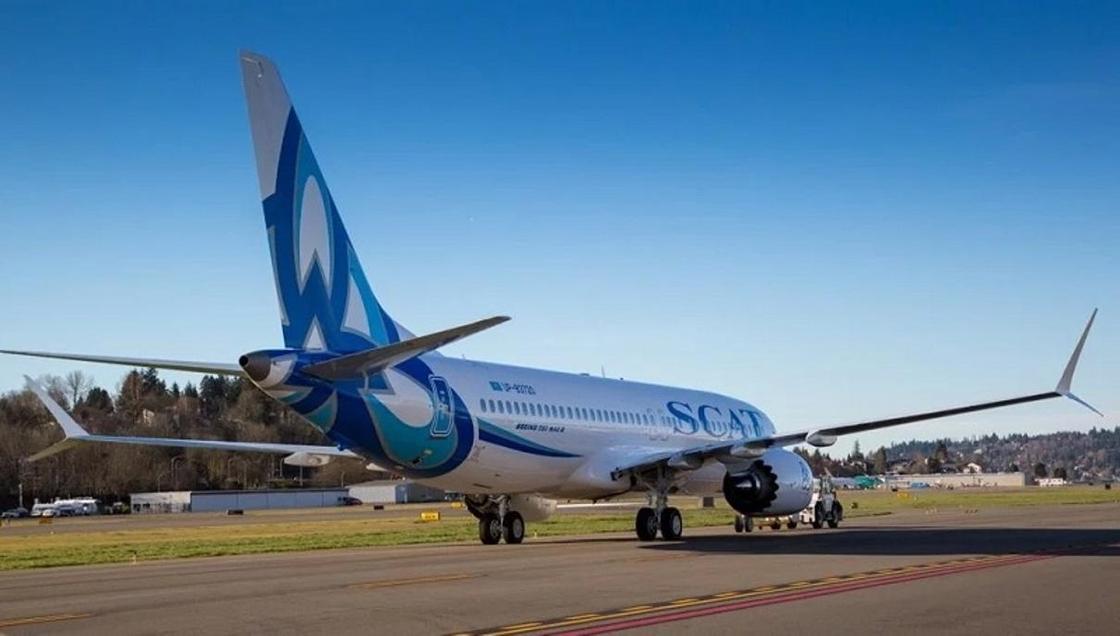 В авиакомпании SCAT не будут отказываться от использования самолетов Boeing-737 MAX 8 (фото)