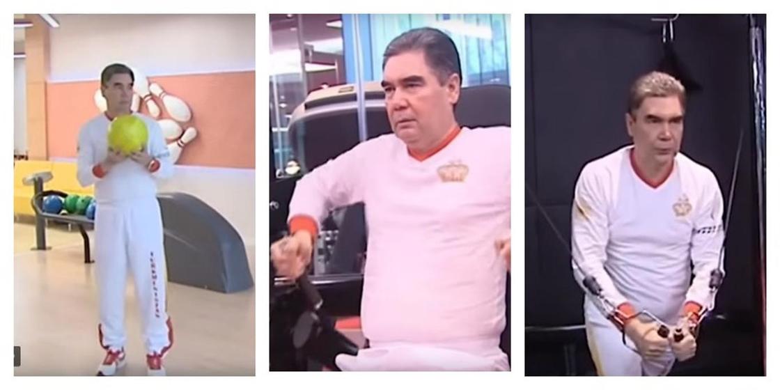 Талатлив во всем: президент дал мастер-класс в боулинге, выбив несколько «страйков» подряд (видео)