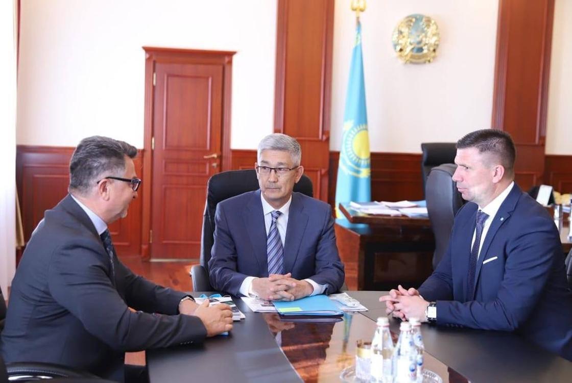 Маңғыстау облысының әкімі Серікбай Трұмов