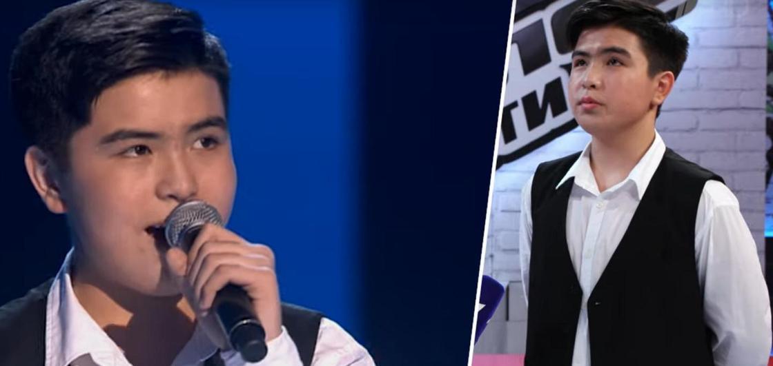 14-летний земляк Димаша прошел в финал шоу «Голос. Дети» (видео)