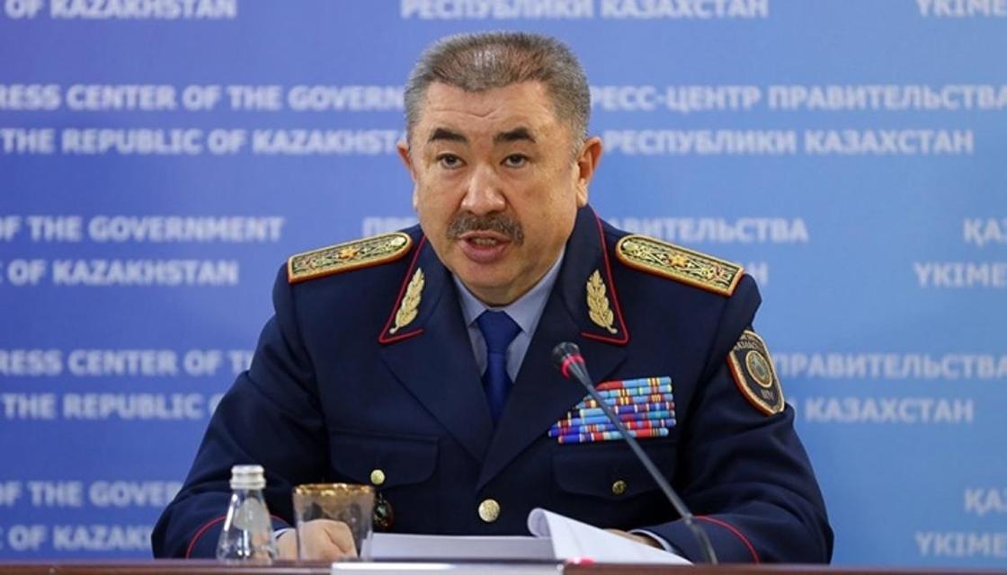 Тургумбаев рассказал, как будет бороться с коррупцией в МВД