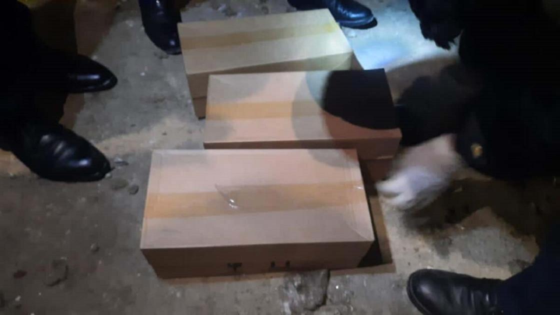 Похищенные коробки