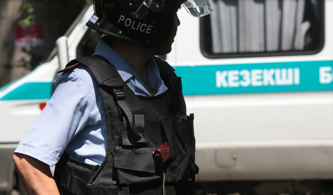 Полиция сделала заявление по поводу событий в Алматы