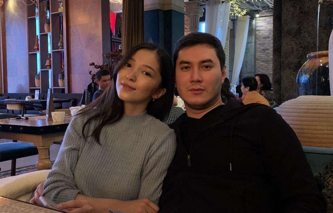 Алмаз Зейнешов с супругой