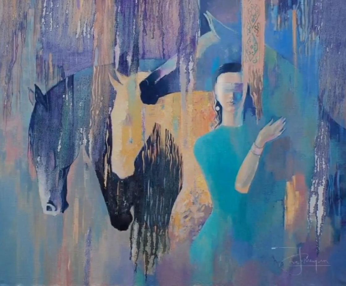 Картина Жениса Нурлыбаева