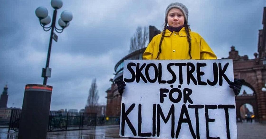 Школьница отказалась ходить на занятия, пока власти не сократят выбросы в атмосферу