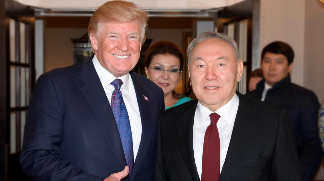 Телерадиокомплекс президента Казахстана поздравил Дональда Трампа с днем рождения (видео)