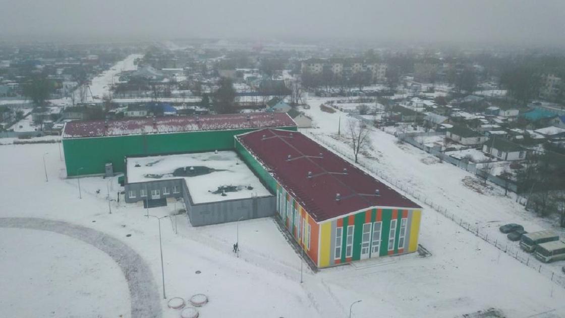 Школу для чемпионов отрыли в Западно-Казахстанской области