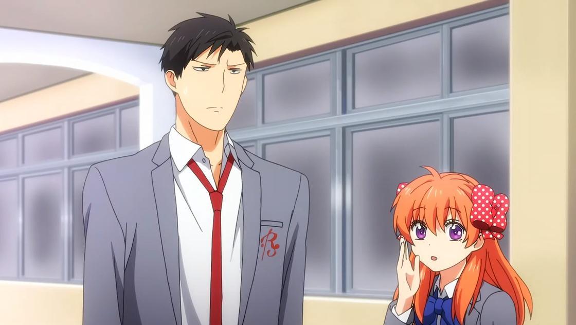 Кадр из аниме «Ежемесячное сёдзё Нодзаки-куна»
