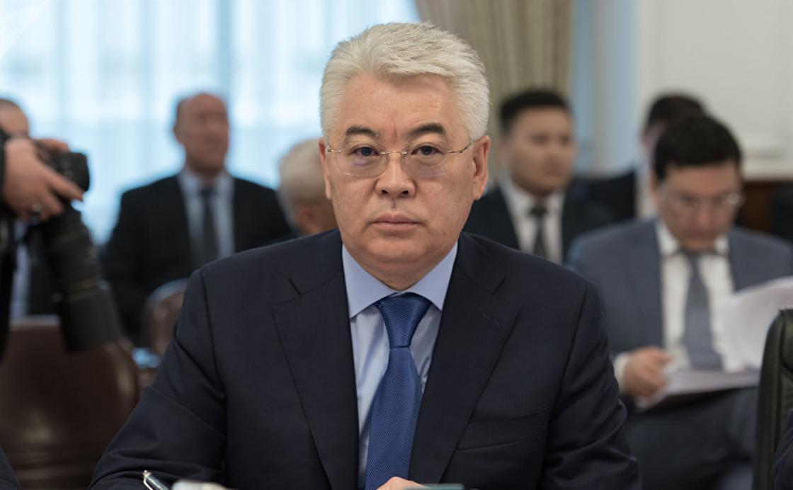 Бейбіт Атамқұлов. Фото:Sputnik / Болат Шайхинов