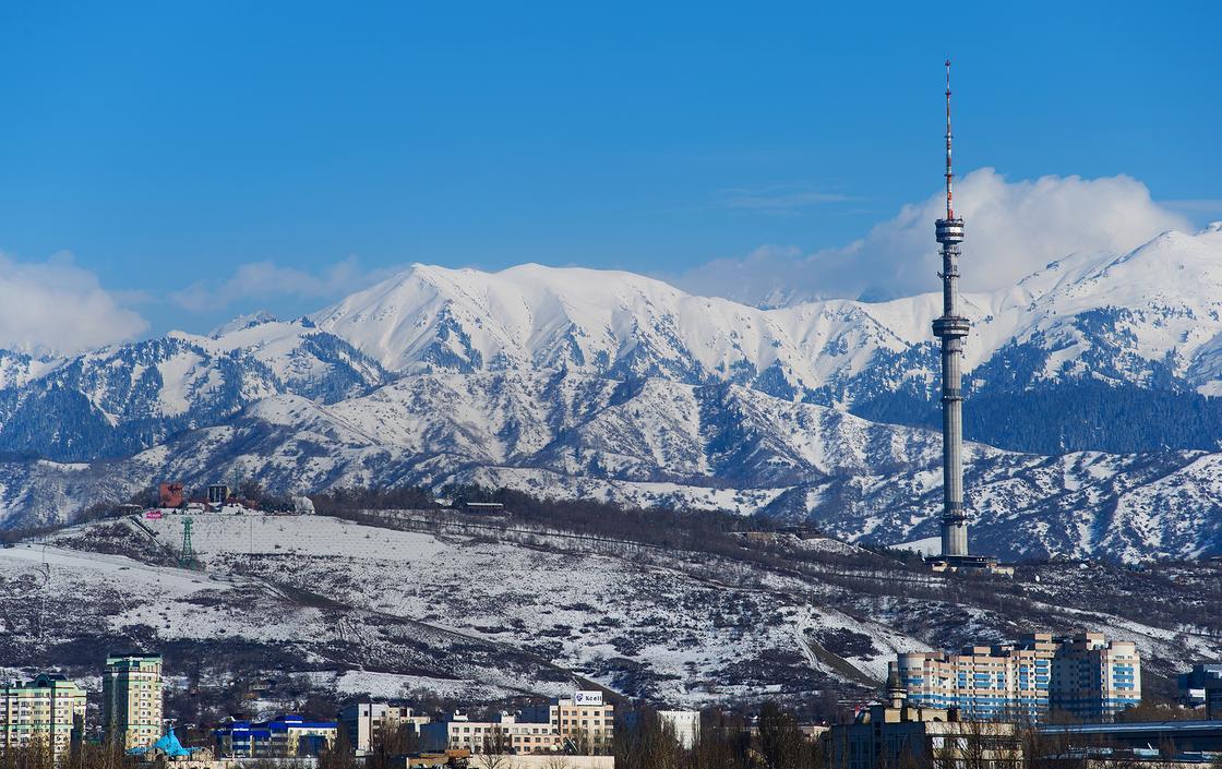 Алматы. Фото: Максима Золотухина